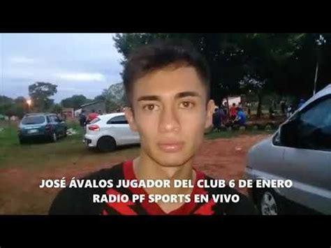 RADIO PF SPORTS EN VIVO NOTA CON JOSÉ ÁVALOS JUGADOR DEL ...