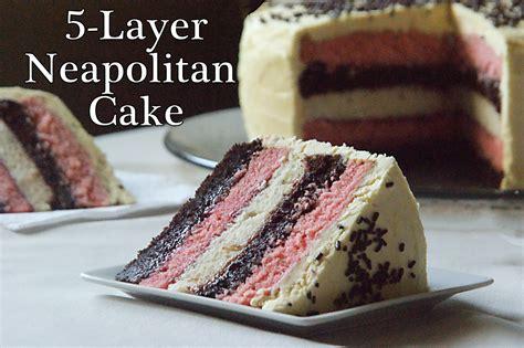Raising Leafs: Tasty Tuesday: 5 Layer Neapolitan Cake