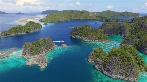 Raja Ampat from above in 4K UHD   YouTube