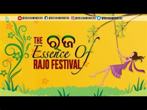 Rajo festival in odisha 2020,Rajo Essence, Why celebrate ...