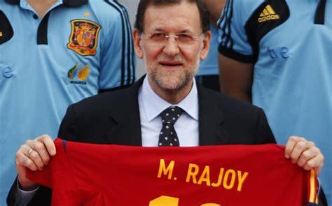 Rajoy asume la presidencia de la Federación Española de Fútbol