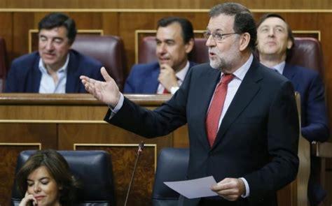 Rajoy comparece hoy en el Pleno del Congreso para hablar ...