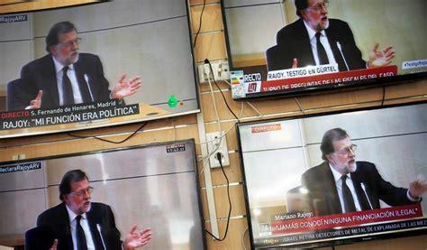 Rajoy declara como testigo: Qué risa, que no me acuerdo ...