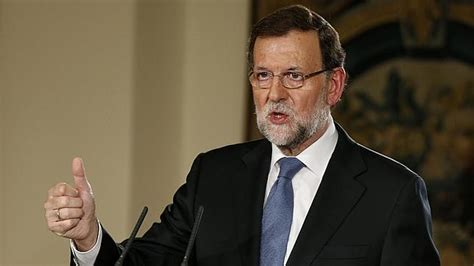Rajoy descarta adelantar elecciones y se propone para ...