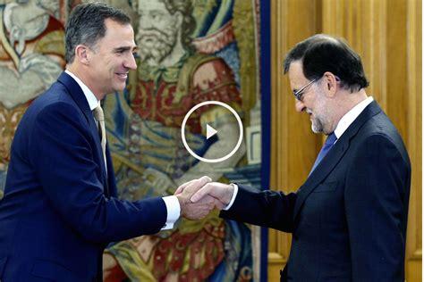 Rajoy dice al Rey que no tiene los apoyos suficientes para ...