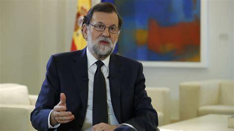 Rajoy exige a Puigdemont que renuncie a la DUI  a la mayor ...