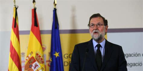 Rajoy llama a la  unidad institucional  en Barcelona para ...
