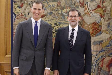 Rajoy mantiene su candidatura a la investidura:  No ...