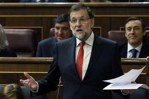 Rajoy niega presiones del Gobierno sobre la acumulación de ...