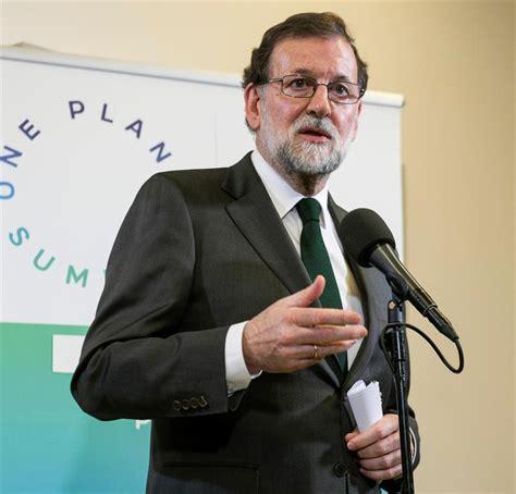 Rajoy:  No podemos suprimir el carbón de un día para otro ...
