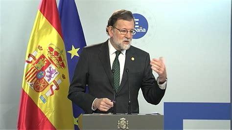 Rajoy:  No tiene sentido hablar de indultos    YouTube