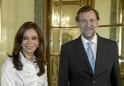 Rajoy no va a hablar con Kirchner y consensuará una ...