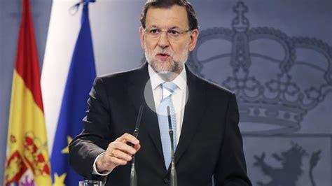 Rajoy pide a los partidos políticos  rapidez  para que ...