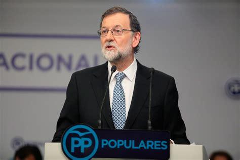 Rajoy propone un Congreso para renovar el liderazgo del PP