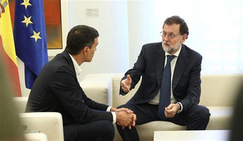 Rajoy se reunirá hoy con Sánchez y Rivera para analizar la ...