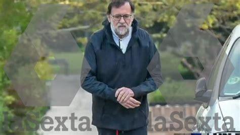 Rajoy se salta el confinamiento para hacer ejercicio en la ...