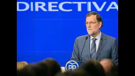 Rajoy:  Tan malo es no tener un Gobierno como tener un ...