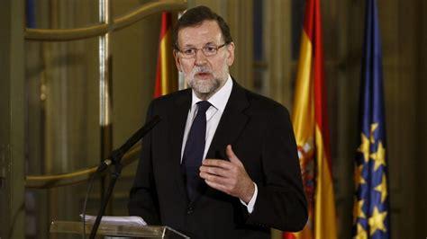 Rajoy tiene  algunas ideas  de candidatos desde hace ...