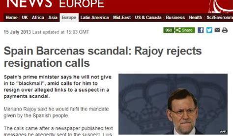 Rajoy, un presidente  asediado  en la prensa extranjera ...