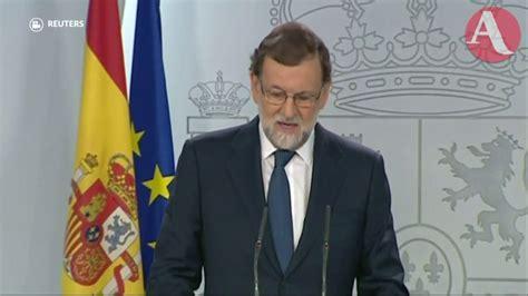Rajoy ya dio el primer paso para disolver al gobierno ...