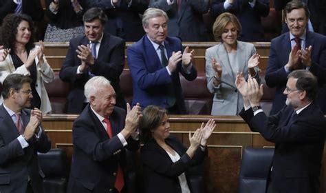 Rajoy ya tiene Gobierno, ahora demanda gobernar