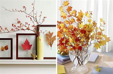 ramas hojas secas arbol decorativas jarron mesa | Handfie DIY