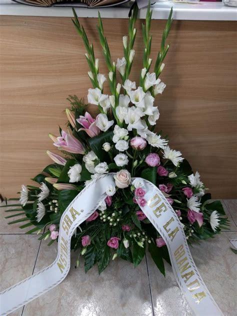 Ramos de flores para difuntos • Floristería Verdegal