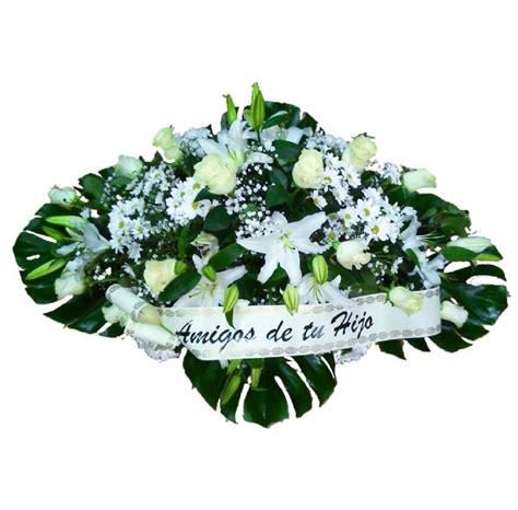 Ramos y centros de flores para tanatorio. Envío urgente