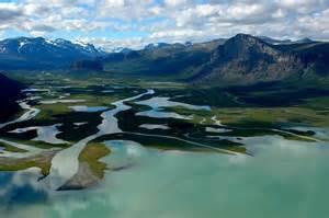 Rapa river delta, Lapland, Sweden   Landschap, Noorwegen ...