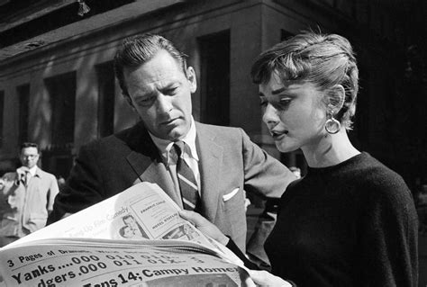 Rare Audrey Hepburn — Audrey Hepburn and William Holden on ...