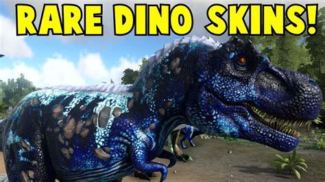 Rare Dino Skins Ark Survival Evolved   Doovi