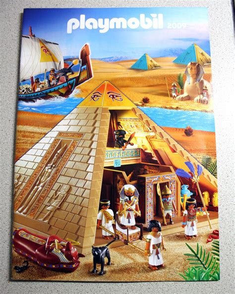 RARE GREEK PLAYMOBIL CATALOG 2009 EGYPTIAN PYRAMID GREECE ...