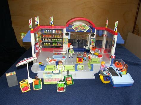 Rare Playmobil Grocery store Duncan, Cowichan
