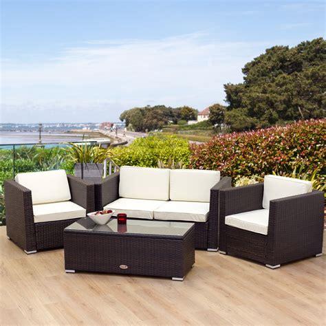 Rattan Garden Furniture For Backyard Beauty and Comfort