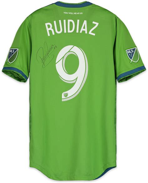 Raul Ruidiaz Seattle Sounders FC Autographed Match Used ...