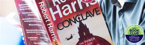 Read an Extract from Conclave by Robert Harris   WHSmith Blog