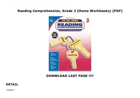 Reading Comprehension, Grade 2  Home Workbooks  [PDF]