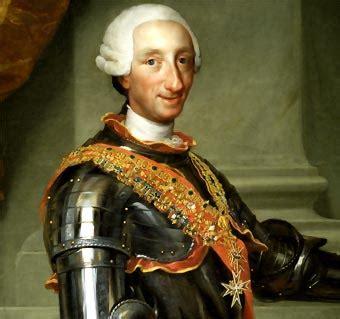 Real de Carolus III 1783: julio 2012