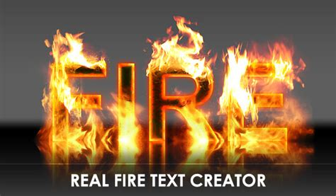 Real Fire Text Creator 2 | GraphicRiver