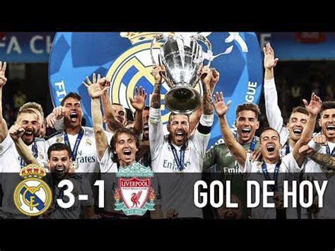 Real Madrid 3 Liverpool 1 I Goles y resumen I Real Campeón ...