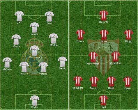 Real Madrid 5 0 Sevilla Video Highlights