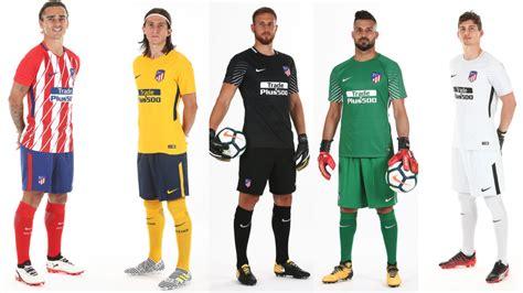 Real Madrid, Barcelona, Atlético e as camisetas dos times ...
