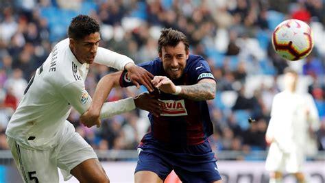 Real Madrid   Eibar: LaLiga de fútbol, hoy en directo