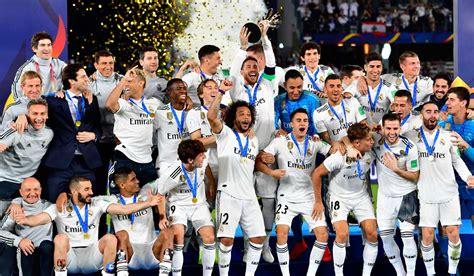 Real Madrid lidera el palmarés del Mundial de Clubes