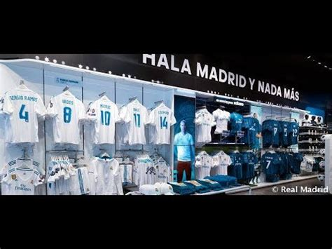 Real Madrid Official Store. Madrid   SPAIN   YouTube