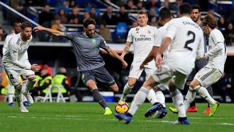 Real Madrid   Real Sociedad: la Liga Santander de fútbol ...