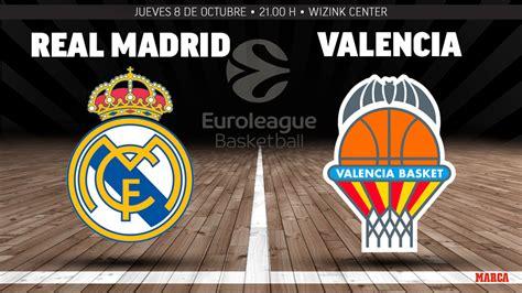 Real Madrid   Valencia Basket: resumen, resultado y ...