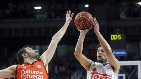 Real Madrid   Valencia, resultado del baloncesto en directo