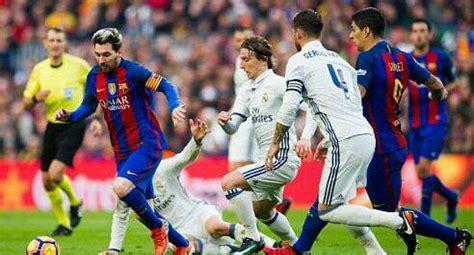 Real Madrid vs. Barcelona: día, hora y canal del partido ...
