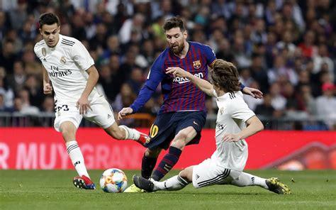 Real Madrid vs Barcelona: En vivo | La Liga de España 2019 ...